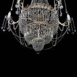 Люстра Елизавета, диаметр - 1000 мм, высота - 1500 мм, Люстры Гусь Хрустальный