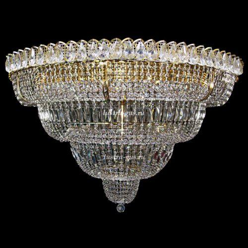 Люстра Хрустальный Водопад 17 ламп в Санкт-Петербурге Гусь Хрустальный