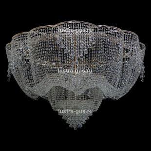Люстра большого диаметра Лотос Пион №2