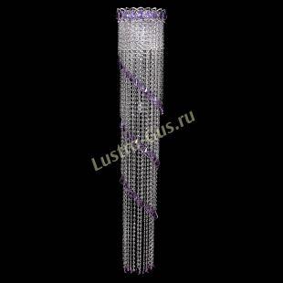 Светильник бра из хрусталя Бра Винтаж №4 фиолетовая