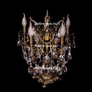 Бронзовая настольная лампа Луиза
