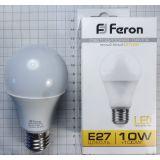 Лампа светодиодная Ferron LB-92, цвет белый теплый, 10 W