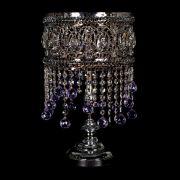 Настольная лампа Кольцо Ажур №9 цветная