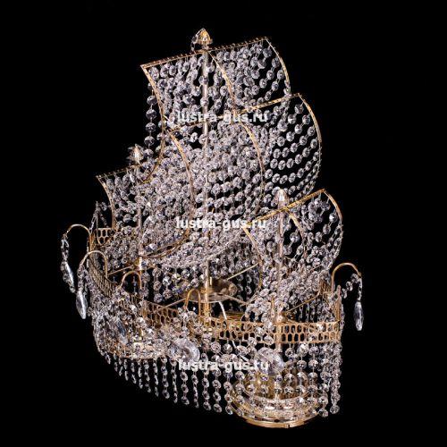 Настольная лампа Корвет №1 - 2 лампы в Санкт-Петербурге Гусь Хрустальный