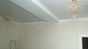 Люстра Хрустальные брызги с подвесом журавлик черный отзыв и фото покупателя