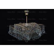Люстра Космос 3 лампы с подвесом шар