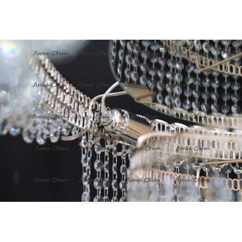Люстра Водопад длинный с подвесом  в Санкт-Петербурге Гусь Хрустальный