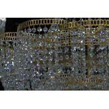 Люстра Лотос с подвесом диаметр 1000 мм высота1500 мм