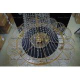 Люстра Лотос с подвесом диаметр 1000 мм высота1500 мм в Санкт-Петербурге