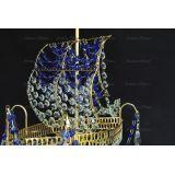 Люстра Корвет 1 ламповый синий в Санкт-Петербурге