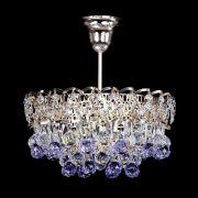 Люстра Астра шар фиолетовая 1 лампа