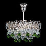 Люстра Астра шар зеленая 1 лампа