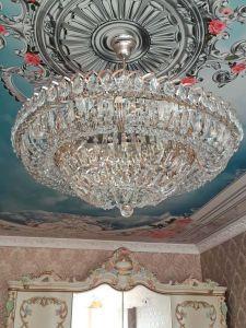 Люстра Хрустальный Каскад №1 с подвесом отзыв и фото покупателя