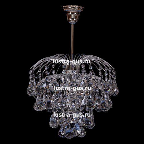 Люстра Хрустальные брызги шар 40 в Санкт-Петербурге Гусь Хрустальный