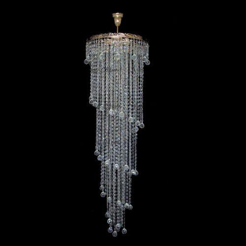 Люстра Капель Винтаж 3 лампы подвесная в Санкт-Петербурге Гусь Хрустальный