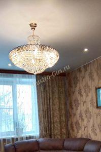 Люстра Кольцо Классика с подвесом в Санкт-Петербурге отзыв и фото покупателя