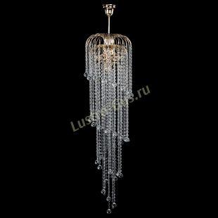Люстра для лестницы Лора Винтаж длинная (шар 30мм)