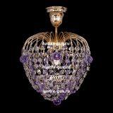 Люстра Малинка шар фиолетовая в Санкт-Петербурге
