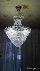 Люстра Натали Роза в Санкт-Петербурге отзыв и фото покупателя