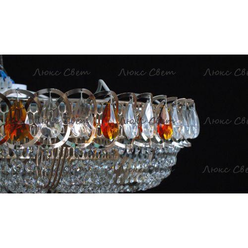 Люстра Кольцо пирамида шар 40 мм чайный в Санкт-Петербурге Гусь Хрустальный