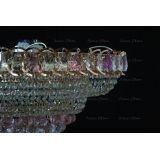 Люстра Кольцо пирамида шар 40 мм розовая в Санкт-Петербурге