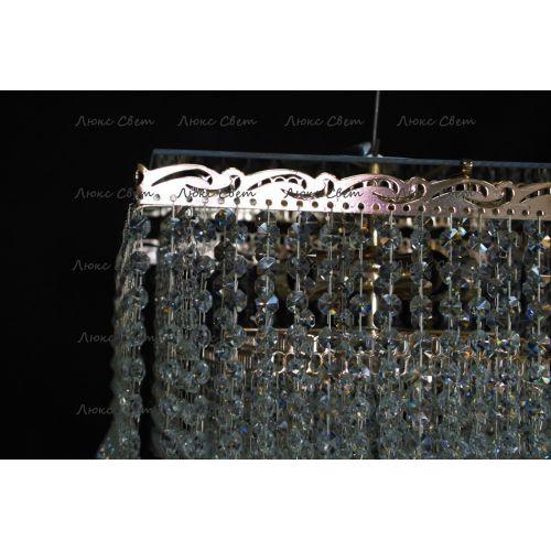 Люстра Квадрат гамма конус 40 мм длинная в Санкт-Петербурге Гусь Хрустальный