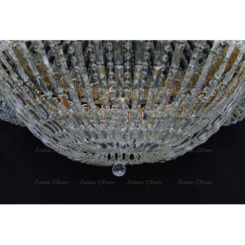 Люстра Кольцо купол 2 - 1000 мм пластина  в Санкт-Петербурге Гусь Хрустальный