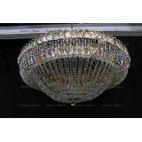 Люстра Кольцо купол 2 - 1000 мм пластина  в Санкт-Петербурге