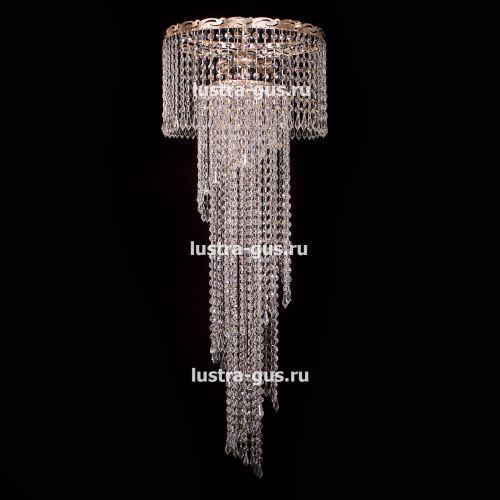 Люстра Анжелика +низ винтажом в Санкт-Петербурге Гусь Хрустальный