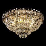 Люстра Астра Бутон, диаметр - 450 мм, цвет - золото, Люстры Гусь Хрустальный