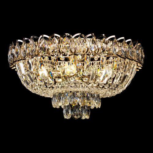 Люстра Астра Бутон, диаметр - 450 мм, цвет - золото Гусь Хрустальный