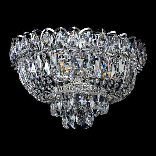 Люстра Астра Бутон, диаметр - 400 мм, цвет - серебро Гусь Хрустальный