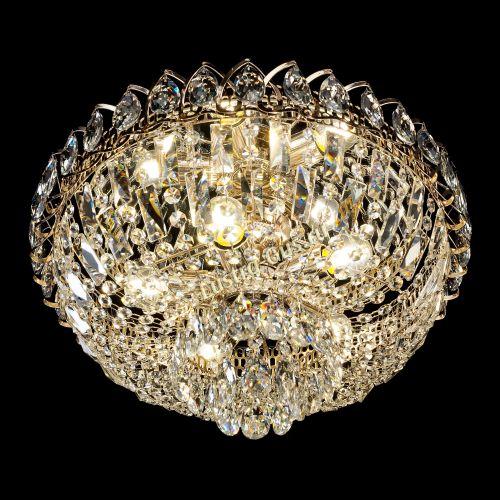 Люстра Астра Бутон, диаметр - 400 мм, цвет - золото Гусь Хрустальный