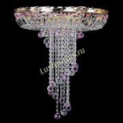 Люстра Диана №6 Шар 30 розовая