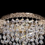 Люстра Есения Антик, диаметр - 700 мм, цвет - золото, Люстры Гусь Хрустальный