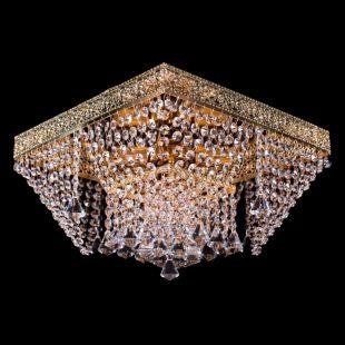 Люстра квадратная Квадрат №12 - 4 лампы