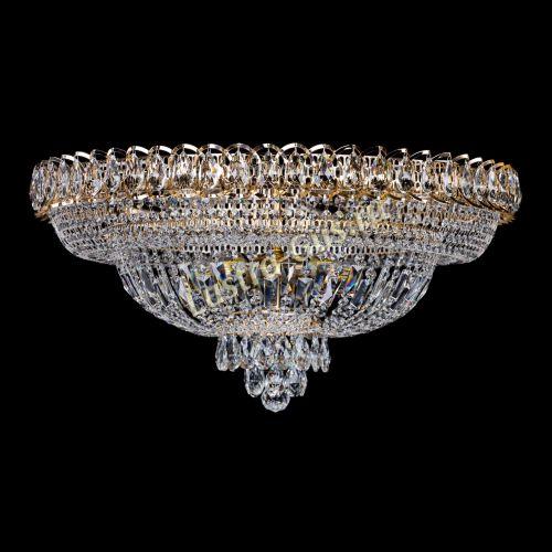 Люстра Хрустальный Каскад №1, диаметр - 700 мм, Люстры Гусь Хрустальный