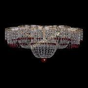Люстра Камелия №1 красная 500 мм
