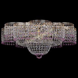 Люстра Камелия №1 розовая