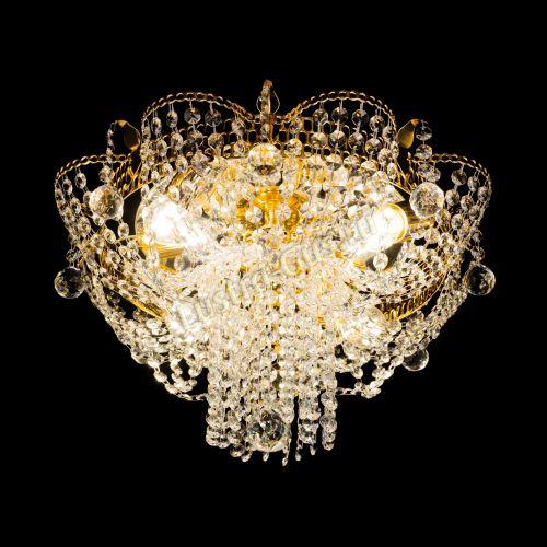 Люстра Камея Александра, диаметр - 450 мм, 4 лампы Гусь Хрустальный