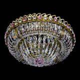 Люстра Кольцо Классика Пластинка розовая под бронзу в Санкт-Петербурге
