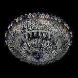 Люстра Кольцо Классика Пластинка синяя в Санкт-Петербурге