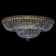 Люстра Кольцо Классика 10 ламп под бронзу