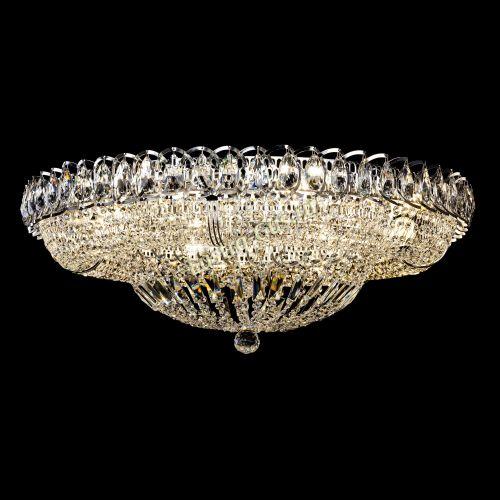 Люстра Кольцо Классика 700 мм, цвет: серебро, Люстры Гусь Хрустальный