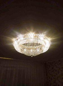 Люстра Кольцо Классика 900 мм в Санкт-Петербурге отзыв и фото покупателя