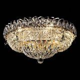 Люстра Кольцо Классика 500 мм, цвет: золото, Люстры Гусь Хрустальный
