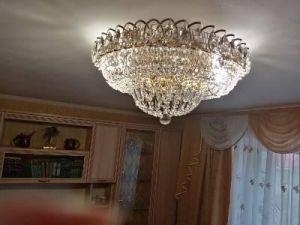 Люстра Кольцо Классика в Санкт-Петербурге отзыв и фото покупателя