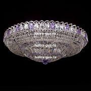 Люстра Кольцо Классика фиолетовая 800 мм