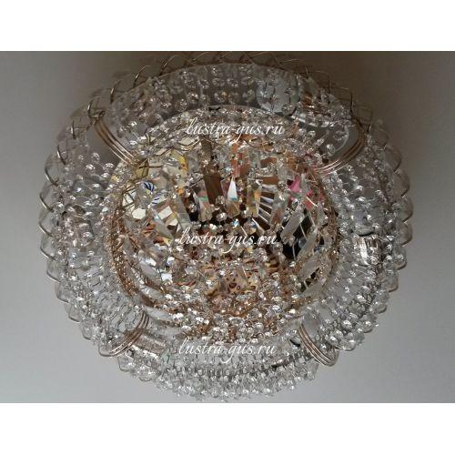 Люстра Кольцо Классика Пластинка, Диаметр - 450 мм (фото от покупателя), Люстры Гусь Хрустальный