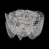 Люстра Космея Высокая, диаметр - 520 мм, цвет - серебро, Люстры Гусь Хрустальный